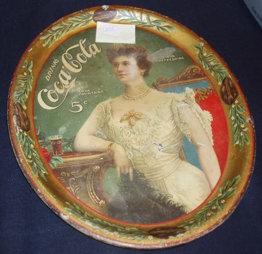 1904 OVAL TRAY ($3500 Reserve, $1600 Bid)