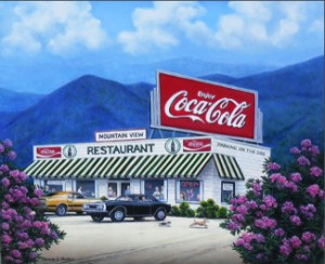 Mountain View by Pamela Renfro
